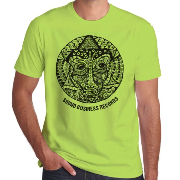 Brother Culture & Paul Fox   Sound Business T-Shirt   Lime