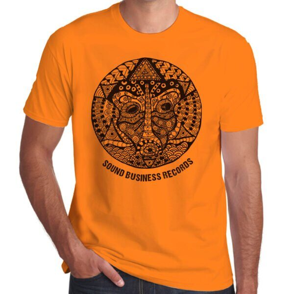 Brother Culture & Paul Fox   Sound Business T-Shirt   Orange