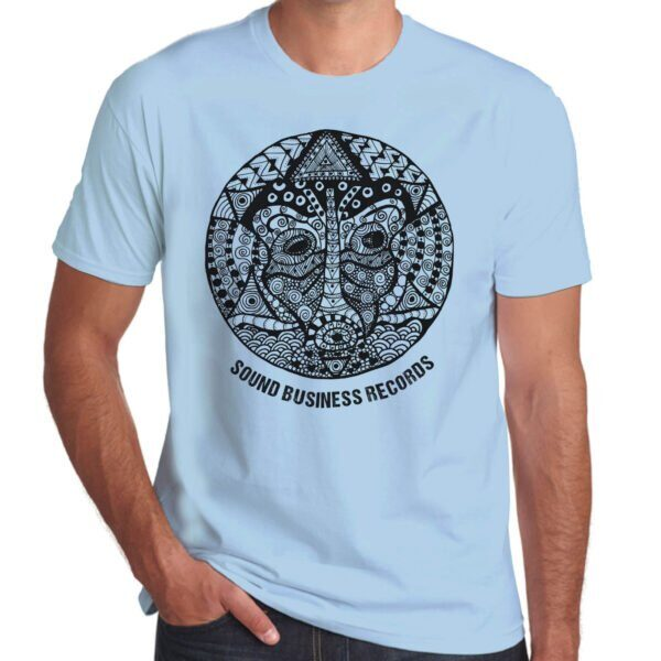 Brother Culture & Paul Fox   Sound Business T-Shirt   Sky Blue