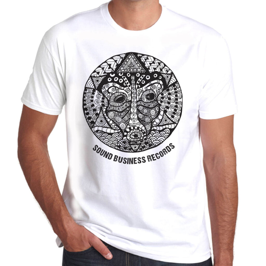 Brother Culture & Paul Fox | Sound Business T-Shirt | White
