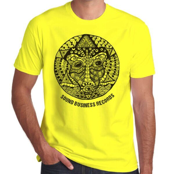 Brother Culture & Paul Fox   Sound Business T-Shirt   Yellow