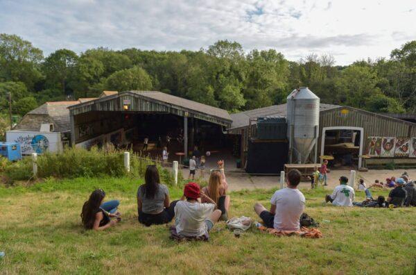 Grassy knoll   Carnival in the Barn 2021
